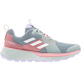 adidas TERREX Two Gore-Tex Chaussures de trail Femme, ash grey/footwear white/glory pink